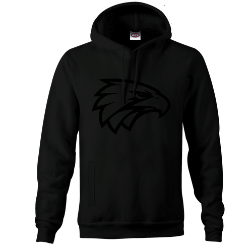 West Coast Eagles Black on Black Youth Stealth Hood - Pre-Order