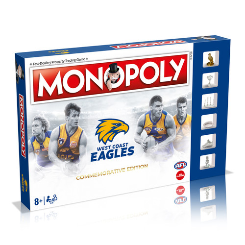 West Coast Eagles Monopoly - Commemorative Edition