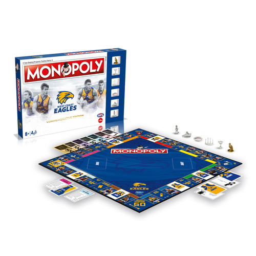 West Coast Eagles Monopoly - Commemorative Edition