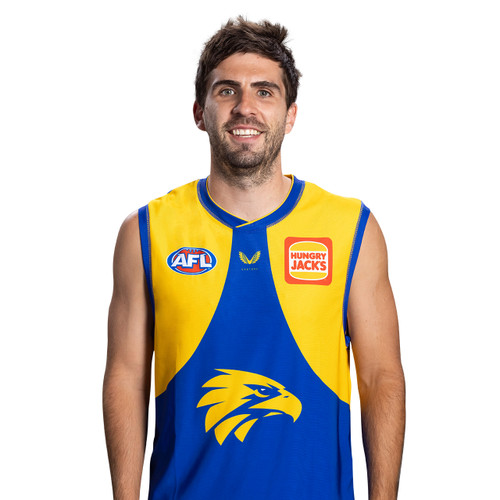 West Coast Eagles Castore Men's Home Guernsey