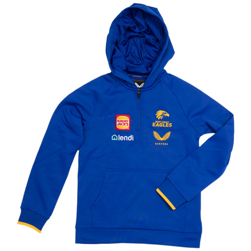 West Coast Eagles Castore Women's Travel Hoody Royal