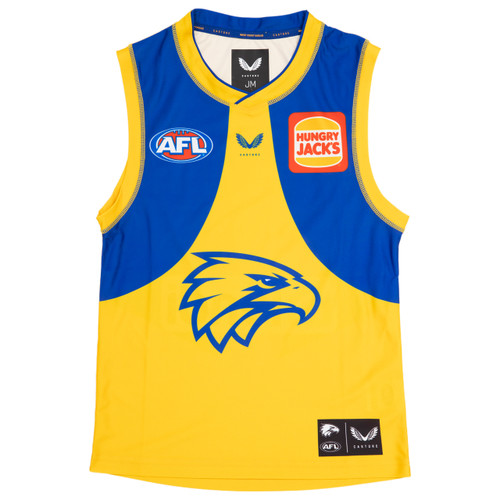 West Coast Eagles Castore Youth Clash Guernsey