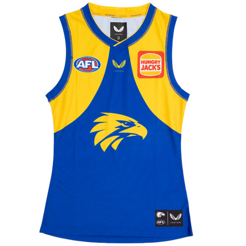 West Coast Eagles Castore Women's Home Guernsey