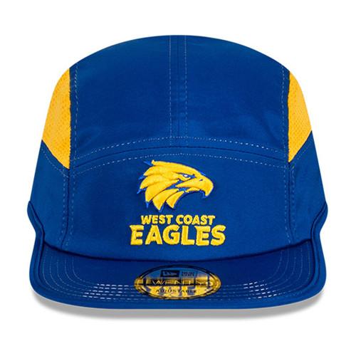 West Coast Eagles New Era Twenty9 Running Cap Royal