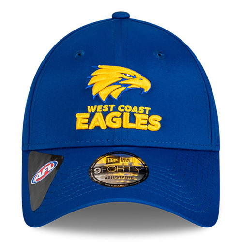 West Coast Eagles New Era 9Forty Media Cap Royal