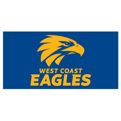 West Coast Eagles Flagpole Flag Royal