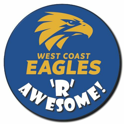 West Coast Eagles Awesome Badge