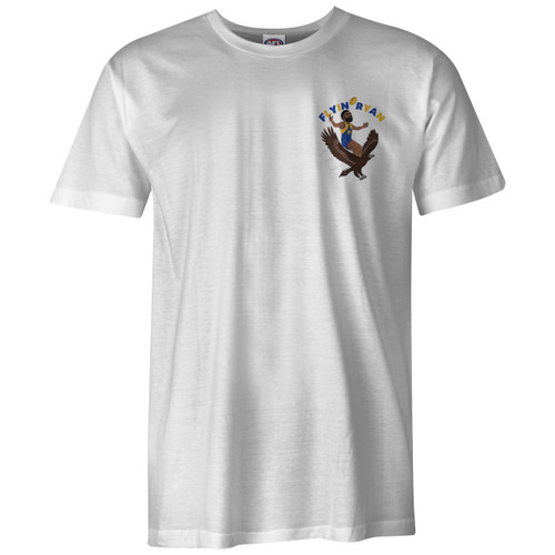 West Coast Eagles Youth Flyin' Ryan Graphic Tee White