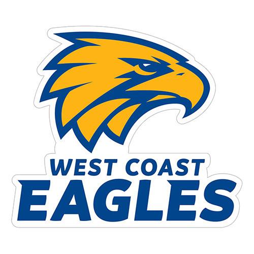 West Coast Eagles Logo Sticker