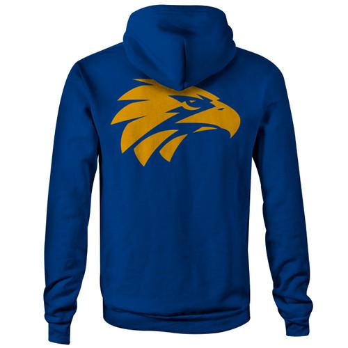 West Coast Eagles Men's Logo LS Hoody