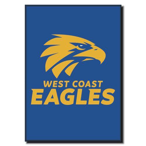 West Coast Eagles Logo Magnet