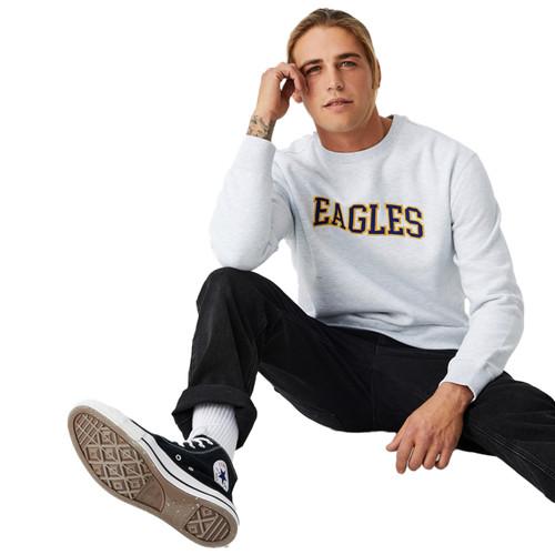West Coast Eagles Collegiate Applique Crew