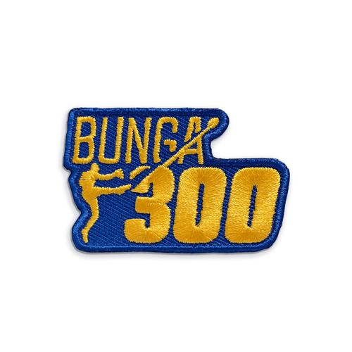 "West Coast Eagles Shannon Hurn 300 Game Heat Seal ""Bunga"" Badge"