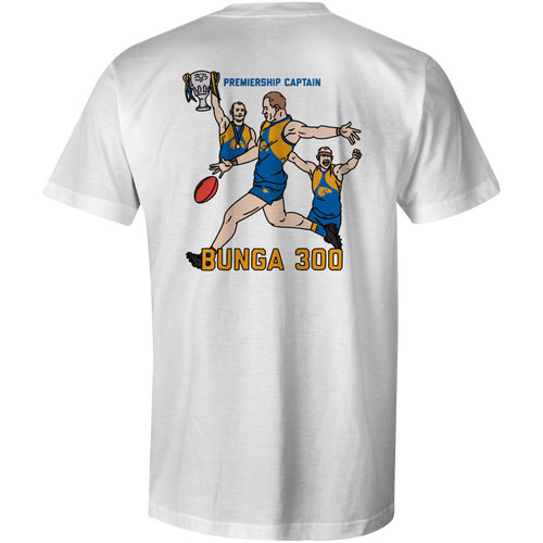 West Coast Eagles Shannon Hurn 300 Game Tee