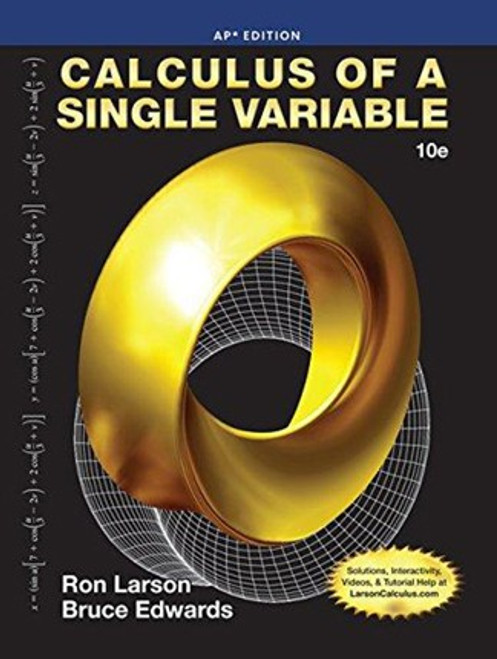 Calculus Single Variable 10th