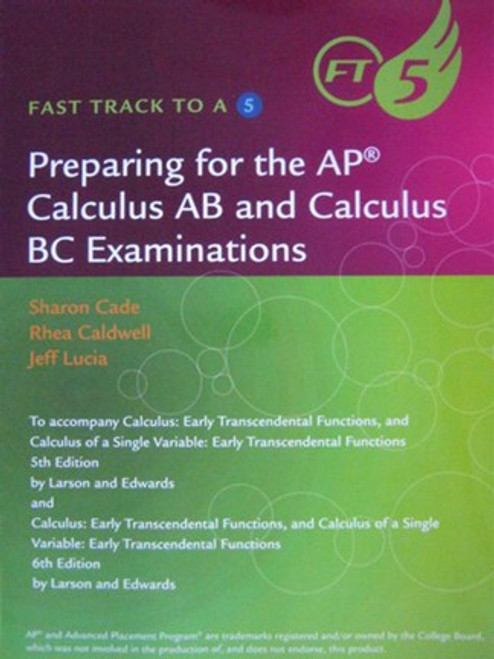 Fast Track to a 5: AP Calculus
