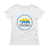 Partido Nacional de California ladies' scoopneck t-Shirt