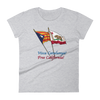 Visca Catalunya, Free California women's short sleeve t-shirt