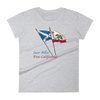Saor Alba, Free California women's short sleeve t-shirt