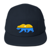 CNP Bear 5 panel camper cap