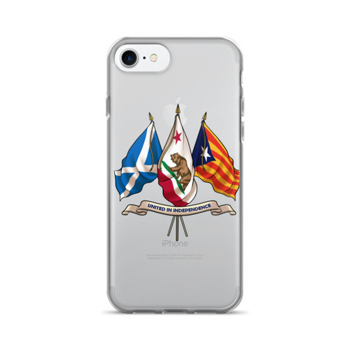 Three nations united in Independence.  iPhone 7/7 Plus Case