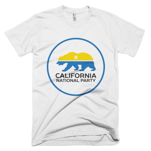California National Party short sleeve men's t-shirt