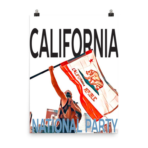 Flagbearer Poster