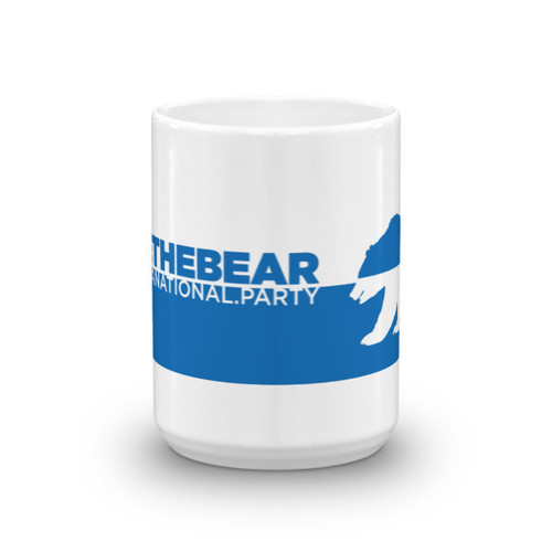 #FreeTheBear Mug, Blue