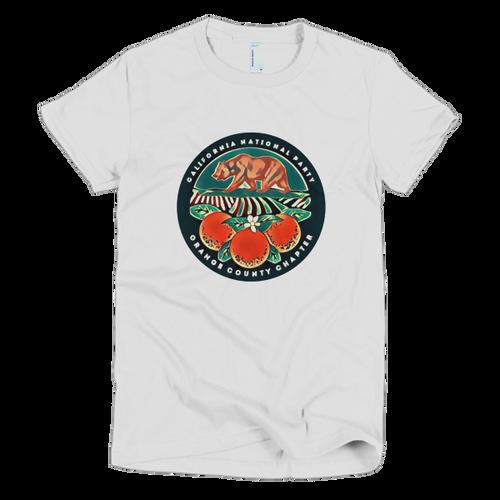 CNP Orange County short sleeve women's t-shirt (form fitting)