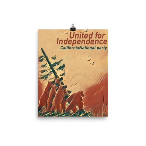 United for Independence poster