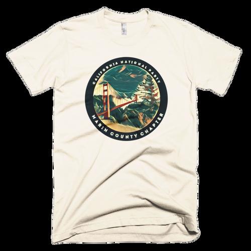 CNP county Marin short sleeve men's t-shirt