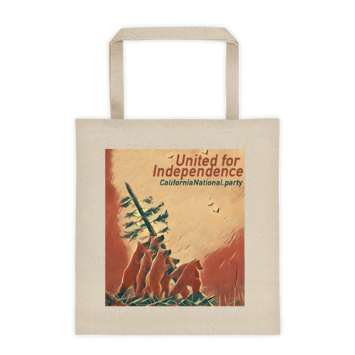 United for Independence CNP tote bag
