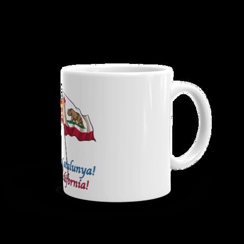 Visca Catalunya, Free California Mug