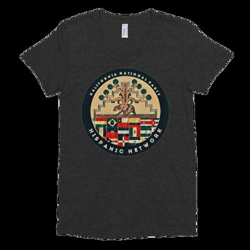 CNP Hispanic Network women's short sleeve scoop-neck t-shirt