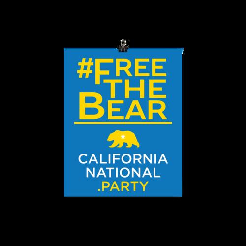 #FreeTheBear Poster