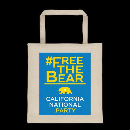 #FreeTheBear tote bag