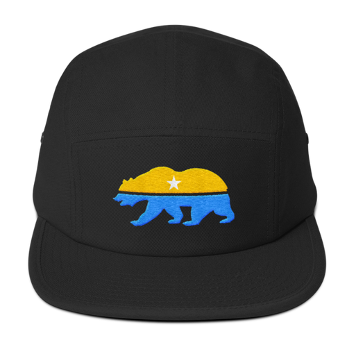 CNP Bear 5 panel camper cap
