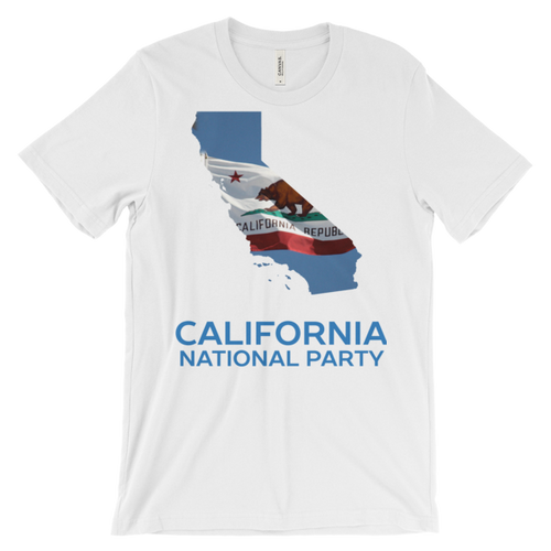 CNP California map short sleeve men's t-shirt