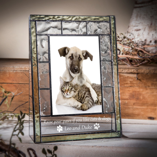 Dogs Leave Paw Prints Message Clip Dog Frame