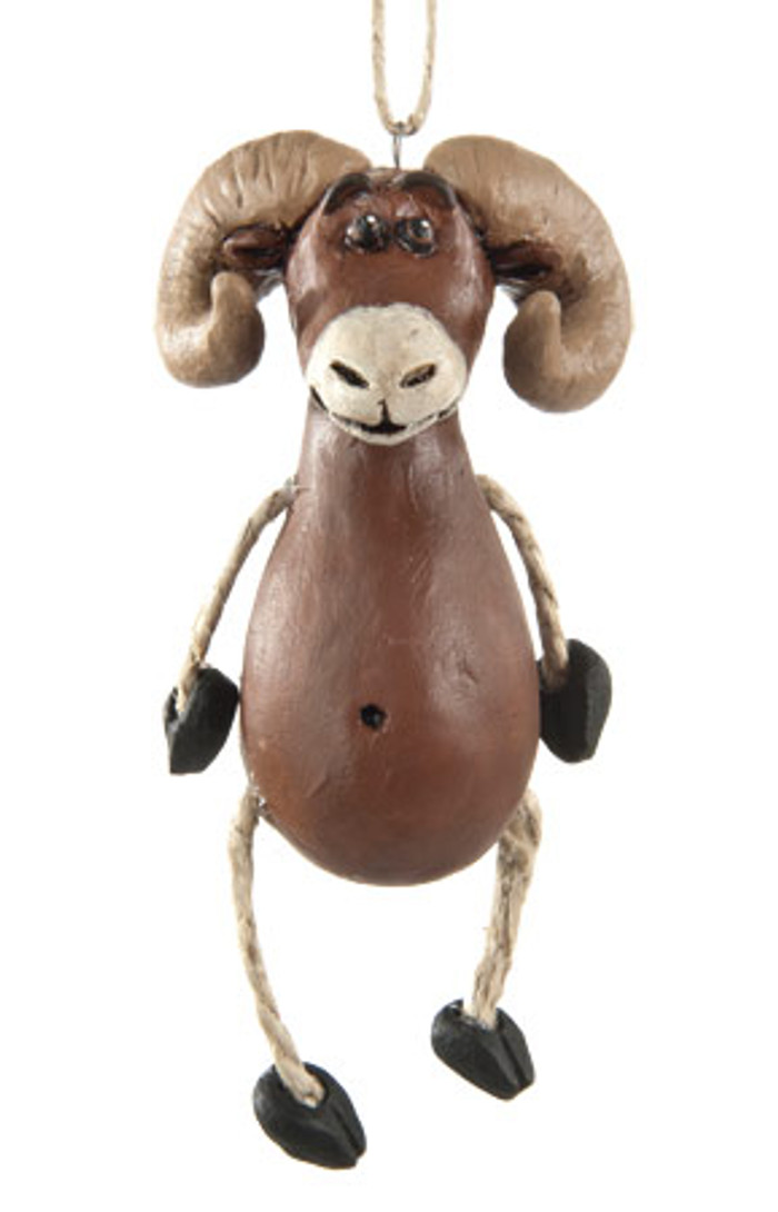 Dangly Big Horn Sheep Ornament