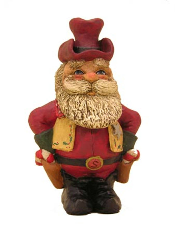 Bert Anderson Collection MB14 Cowboy Santa