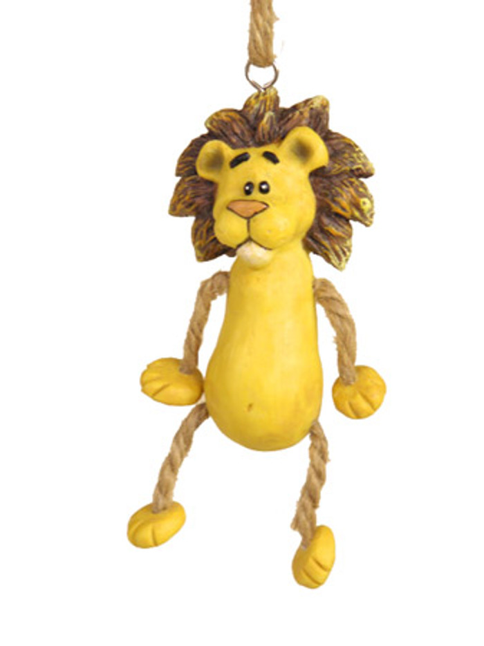 Bert Anderson Dangly Lion Ornament