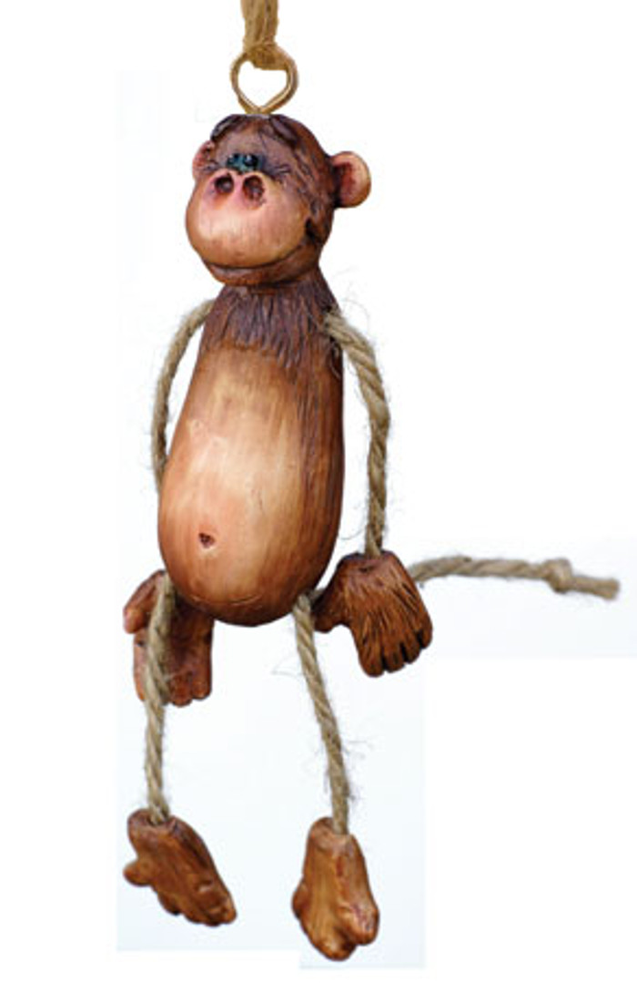 Bert Anderson Dangly Monkey Ornament