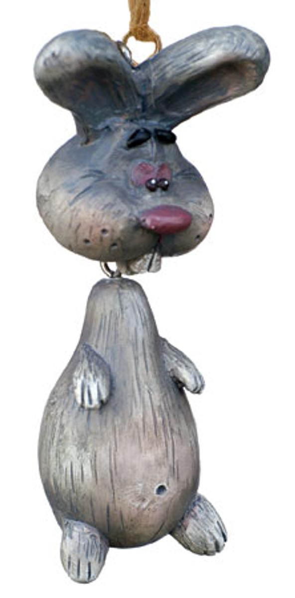 Bert Anderson Dangly Bunny Ornament