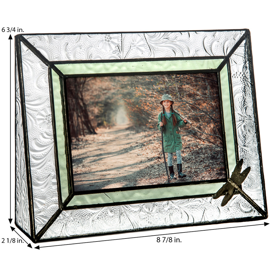 J. Devlin Pic 107 Series Glass Photo Frames - Dragonfly