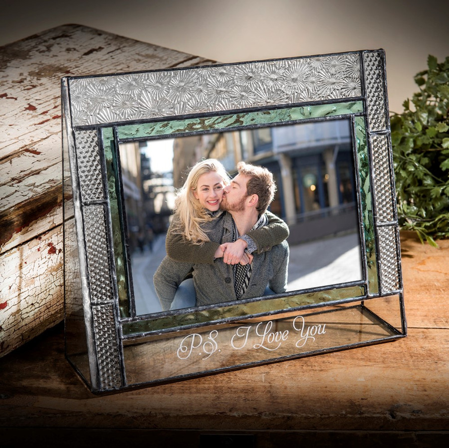 P.S. I love you - Vacation- Memories Engraved Horizontal Picture Frame Pic 382-46H