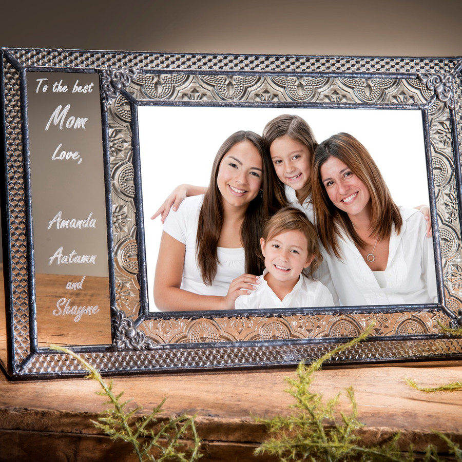 Best Mom Mother's Day Gift 4x6 Horizontal Picture Frame