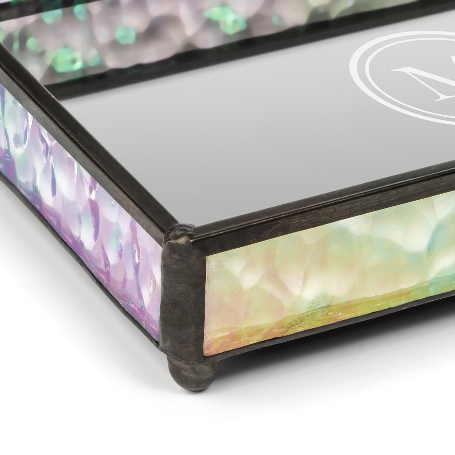 Personalized J. Devlin TRA 101 Monogrammed Dresser Organizing Tray Perfume Display Tray ET104