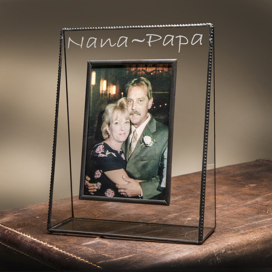 Nana~Papa Engraved Picture Frame 4x6 Horizontal or Vertical EP510 / EP528