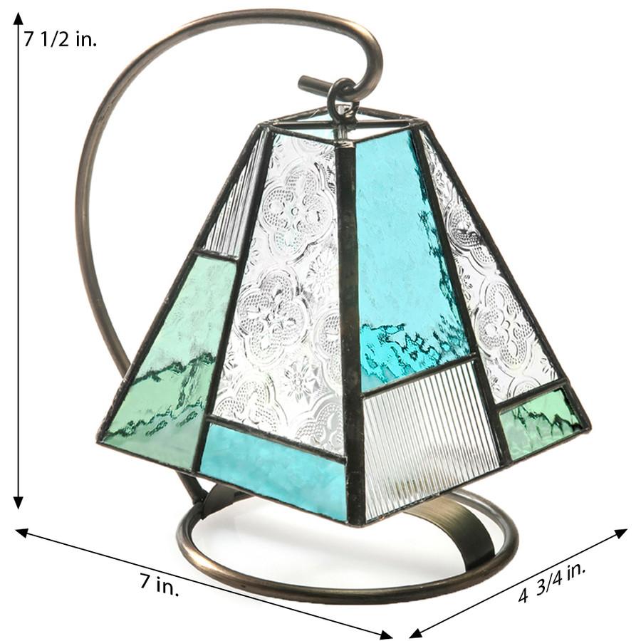 J. Devlin Lam 710 Blue Green Accent Night Light Mini Lamp